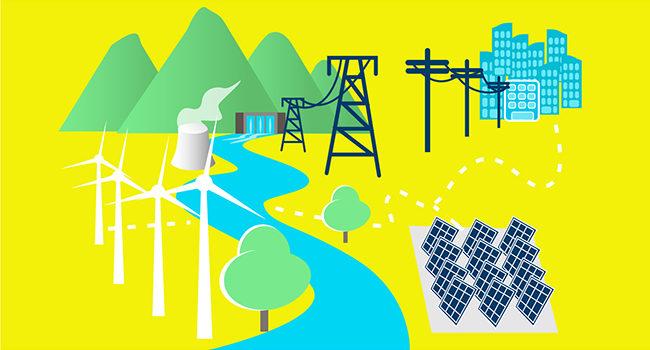 Secteurs d'activités énergie et réseaux électriques
